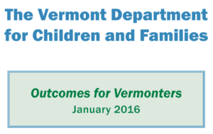 DCF Publishes Outcomes Report